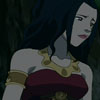 "lizbee: Screencap of Azula in ""The Beach"" looking thoughtful and perhaps sad (Avatar: Azula (pensive))"