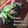 ranalore: froggy barnes, flipper soldier (rana america buchana)