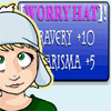 alias_sqbr: Hannelore: Worry hat! Bravery plus 10, charisma plus 5 (worry hat)