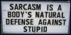 adric: (sarcasm)