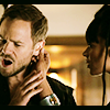 monanotlisa: Dutch pulls Johnny's ear to check for a tech implant (dutch & johnny - killjoys)