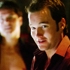 pixel: Jack and Ianto looking rumpled. (Torchwood) (torchwood: janto mussed)