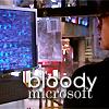 "pixel: Tosh, ""Bloody Microsoft"" (Torchwood) (torchwood: tosh bloodymicrosoft)"