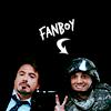 """pixel: Tony and soilder, """"Fanboy"""" (Iron Man) (ironman: tony fanboy)"""