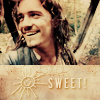 "pixel: Will's smile, ""Sweet!"" (Pirates of the Carribean) (potc: will sweet)"
