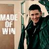 """pixel: Dean fistpump, """"Made of Win."""" (Supernatural) (supernatural: dean madeofwin)"""