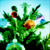 jamethiel: A bright christmas tree with baubles! (Christmas)