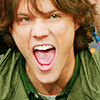 pixel: Jared is all :O (Jared Padalecki) (rpf: jared :O)