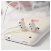 softness: teddy bear headphones on a white ipod (music)