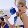 feministlilyevans: This is a photo of Taylor Swift holding a megaphone from the Shake it Off music video. (call out)