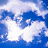 chanter_greenie: a bright blue sky and fluffy clouds (Wisconsin summer: boundless friendly sky)