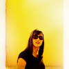 chez_desouza: Christina from Doctor Who, lots of negative space, yellow background. (bzuh?) (Default)