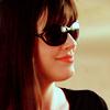 chez_desouza: Close-up of Christina's profile. (smirk/confident/impressed)