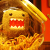 rising: a stuffed domo in a jar (the cadre: domo)