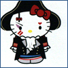 highlander_ii: Hello Kitty dressed as Adam Ant's 'Prince Charming' character ([Ant] Hello Kitty as Prince Charming)
