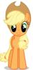 jensurvivor: an avatar for Jen when feeling sustainable and permie (Applejack)