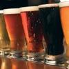 elfin: image: a row of pints of beer (beer.beer)