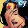 misbegotten: Wonder Woman facepalm (DC Wonder Woman Oy)