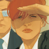 araneidal: art by phil noto. (⧗ wary; cautious)