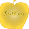kallistixf: A golden apple with Kallisti written on it in Greek (kallisti) (Default)