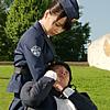 drivesshotgun: (Pinning the suspect)