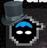birdypaw: A really cruddy tumblr icon with a tophat (Chibi Tophat)