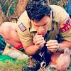 gaynecologist: (about a boy scout)
