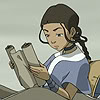tamsin: (AtlA - Katara reading)