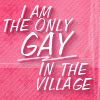 only_gremo: Little Britain quote: I am the only gay in the village (Little Britain: Only gay in the village)