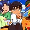maeran: (TeniPuri: SanaYuki - Watermelon!)
