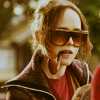 ninamazing: Juno from the movie Juno, in big dark glasses with her ridiculous unlit pipe. Love. (talkin' with my pipe just because i can)