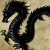 sharpest_asp: A black Asian style dragon (General: Dragon)