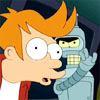 omens: Bender slapping Fry in the face (futurama slap)