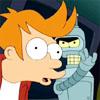 omens: Bender slapping Fry in the face (futurama slap)