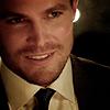 hoodandarrow: (smile in a suit)