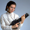 turlough: Princess Leia with a big gun ((star wars) badass princess)