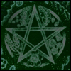 wearetheweavers: obsessiveicons (LJ) (Pentacle in greens and blacks)