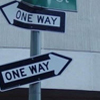 gen_is_gone: two one way arrows pointing in opposite directions (Default)