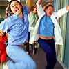 lokifan: Scrubs cast leaping and cheering (Yay! scrubs)