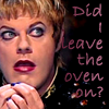 kate: Eddie Izzard's squirrel bit: Did I leave the oven on? (RP: Eddie Izzard did i leave the gas on?)