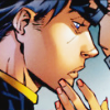 me_ya_ri: Tim Drake getting a gentle touch to the chin while looking sad (DCU Tim Drake 03 Gentle Touch)