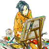 suisaigaka: (painting)