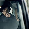 januar: Holmes of Sherlock looking thoughtful in a taxi ([sherlock] sherlock)