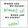infinimato: text only - planet 10 (buckaroo banzai - planet 10)