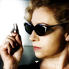 emeraldsword: River Song holding a tiny gun (merlin arthur heart)