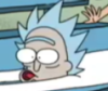 mibani: Screen cap of Rick Sanchez with a very uncomfortable looking face (Default)