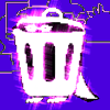 trash0stars: (It's a photo of a garbage can with several pink, glittery filters over it.) (gpoy)