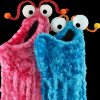 "marginaliana: the two monsters from the Muppets who go ""yip yip yip"" (Muppets - yip yip yip)"