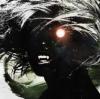 outlineofash: Illustration of a vampire with one burning eye. Artwork by Alex Cherry on DeviantART. (Artwork - Vampire)
