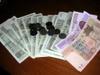 av8rmike: Photo of pile of Korean money (money)